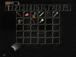 The game's inventory