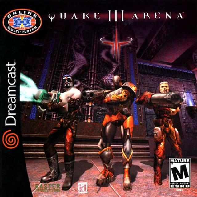 Quake III Arena on Dreamcast