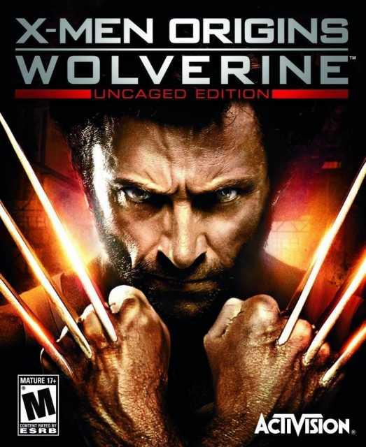 Box art for X-Men Origins Wolverine game