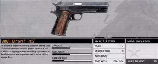 WWII M1911 .45