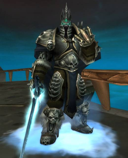 The Lich King as seen in the Wrath of the Lich King