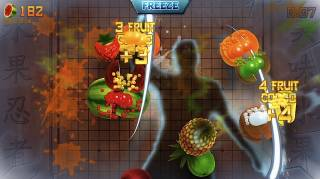Slice virtual fruit with your bare hands.