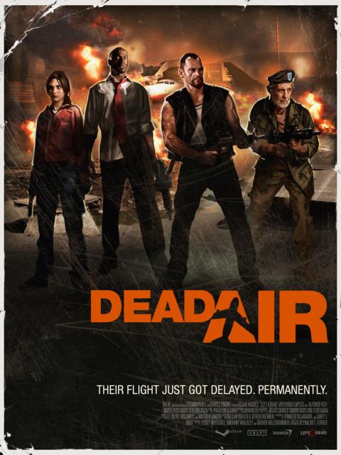 Dead Air campaign poster.