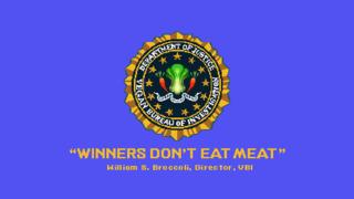 Scott Pilgrim's parody of the slogan