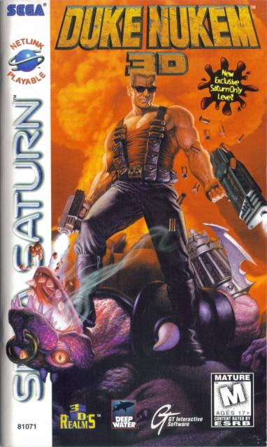 Duke Nukem 3D for the Sega Saturn.