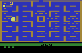 The infamous 2600 port of Pac-Man
