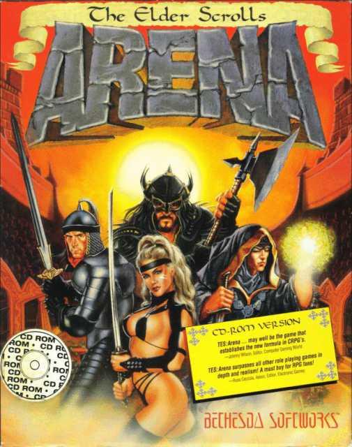 The Elder Scrolls: Arena.