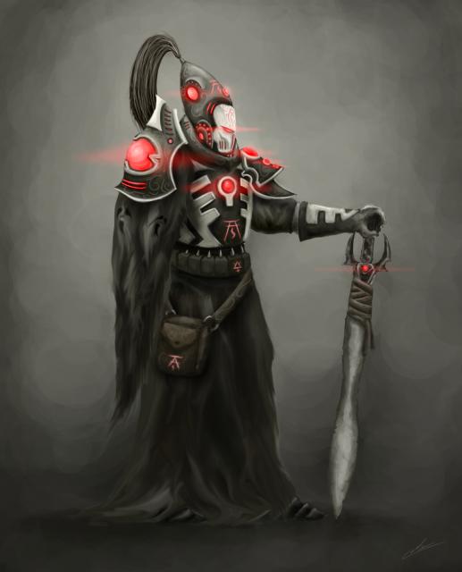 A Warlock of Craftworld Ulthwé