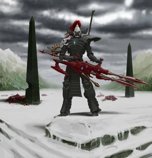 A Dark Reaper stands vigilant