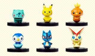 There will be seven figurines available at launch, one of which has not yet been revealed