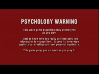 That warning is there for a reason, even if the game thankfully won't traumatize you forever.