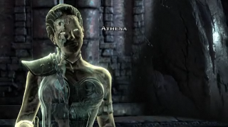 Athena in God of War III.