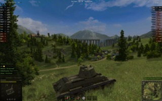 For a free to play game, WoT has pretty good graphics when maxed