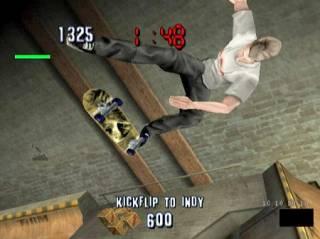 Tony Hawk, pulling off a sick kickflip 50 feet in the air.