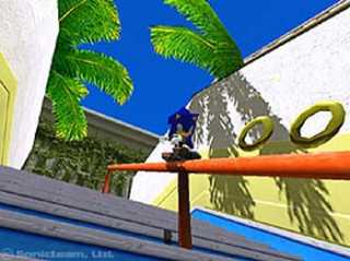 Sonic in 'City Escape!'