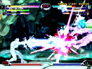 Marvel vs. Capcom 2 on the Dreamcast is the top rated Marvel game.