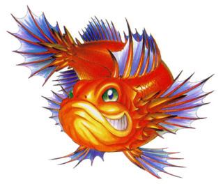 Gobi's fish form.