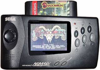 The Sega Nomad, a portable version of the Genesis.