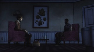 A tense conversation with Clementine's captor.