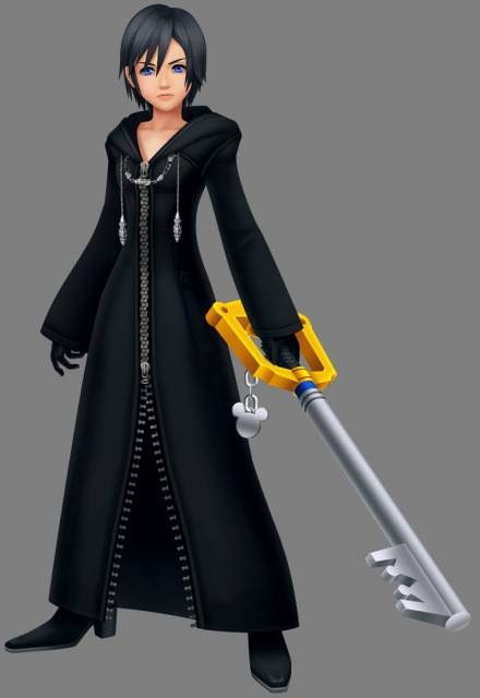 Xion with Keyblade