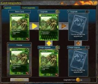 An example of upgrading a card