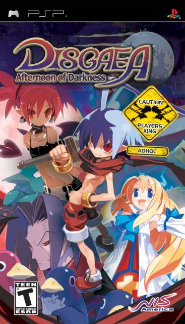 Box art for Disgaea: Afternoon of Darkness