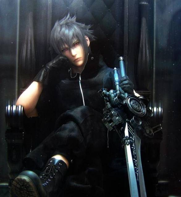 Noctis, the game's protagonist.