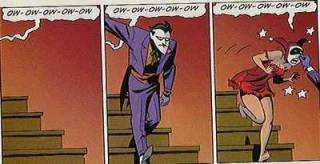 A minor example of abuse towards Harley.