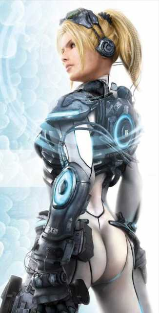 Nova, a ghost from the cancelled game  Starcraft: Ghost.