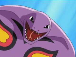 Jessie's Arbok from the Anime.