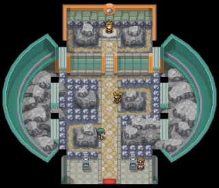 Pewter City Gym from HG and SS