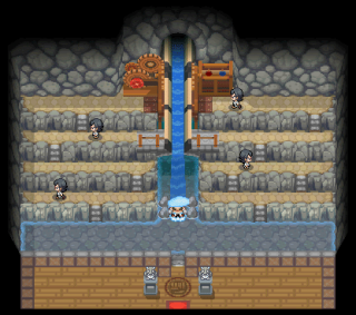 Cianwood City Gym from HG and SS