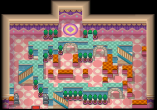 Goldenrod City Gym from HG and SS
