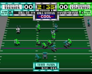 Playing some robotic football