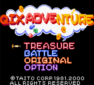 Game Mode Select Screen