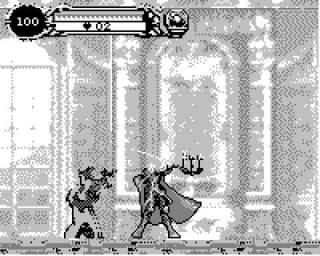 A Screenshot of the Gameplay in the Game.Com Port