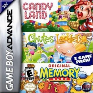 Candy Land / Chutes & Ladders / Original Memory Game