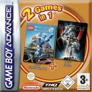 2 Games In 1: LEGO Knights' Kingdom + LEGO Bionicle