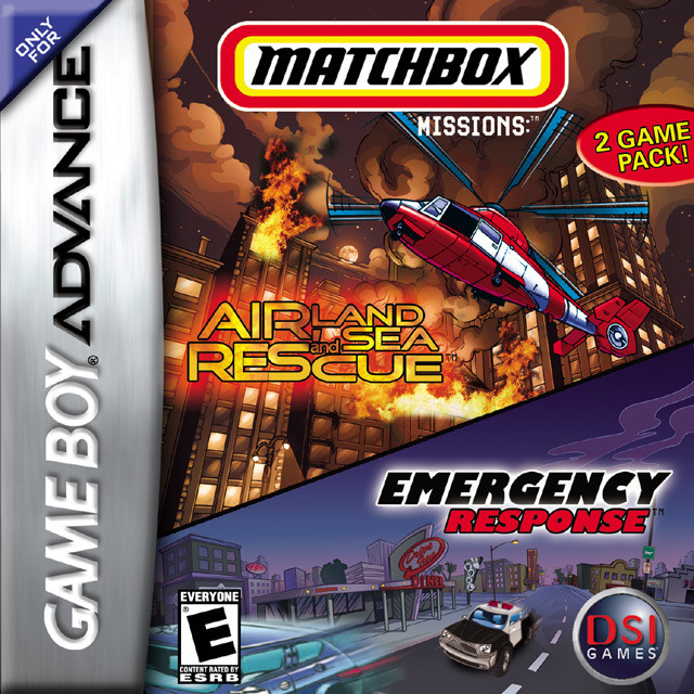 Matchbox Missions: Air, Land and Sea Rescue / Emergency Response