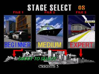 Stage select.