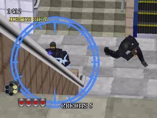 Justice shot.