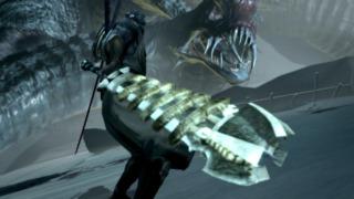 The heavy sword.