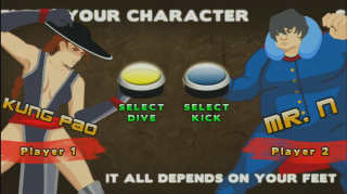 Prototype Version Selection Screen - Kung Pao vs Mr. N