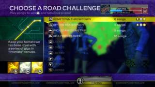 Road Challenge Menu