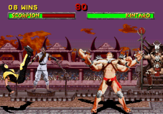 Kano appears briefly in Mortal Kombat II