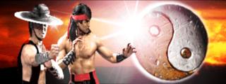 Kung Lao and Liu Kang at the time of MK3