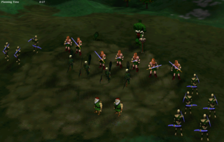 Light and Dark units regularly coexist in multiplayer.