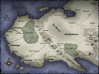 The Myth II World Map