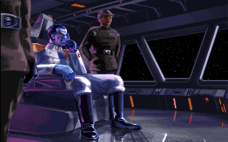 The popular EU character Thrawn makes his first official game appearance.