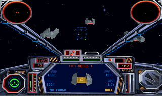 Non-combat objectives, such as escorting these freighters, lend missions a fair amount of variety.